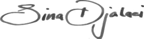 Unterschrift Schönheitschirurg Dr. Sina Djalaei