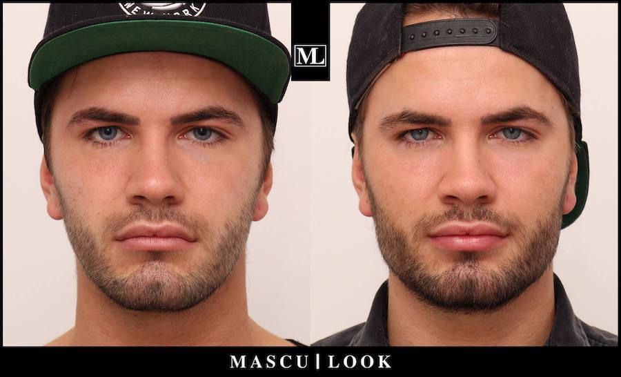 Vorher / Nachher Mascu Look